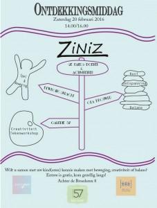 Affiche Ontdekkingsmiddag bij ZiNiZ Deventer
